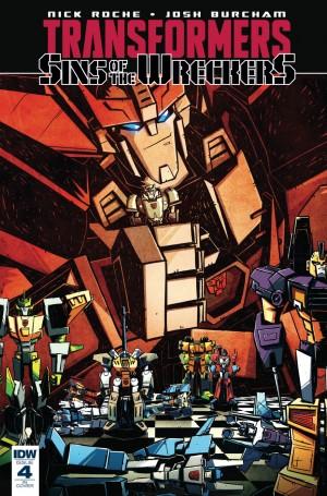Sneak Peek - IDW Transformers: Sins of the Wreckers TPB Extras