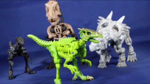 New Video Review of Transformers Kingdom Core Class Dracodon