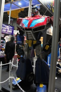 Transformers News: Animated Optimus Prime Statue at TAF2010