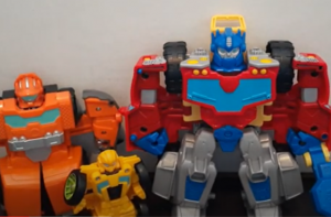 Video Review for 2021 Tow Truck Optimus Prime from Transformers Rescue Bots Academy