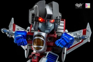 Transformers News: Pictorial Review - Kids Logic Mecha Nations Super Deformed MN-05 Starscream