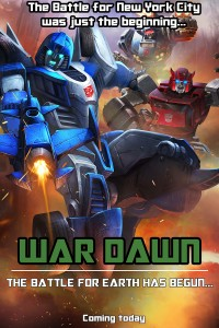 Transformers News: Transformers: Legends Mobile Device Game - War Dawn In-Game Episode