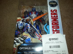 Transformers: The Last Knight Voyager Optimus Prime and Grimlock Spotted at Target in US