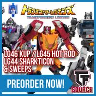 TFsource News! PE Origin Leonidas, TFC Raging Bull, MP-10, KFC Ditka, XT Neptune, TF Legends & More!