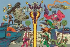 Escalation: Tom Scioli And John Barber On 'Transformers vs. G.I. Joe' Volume 1