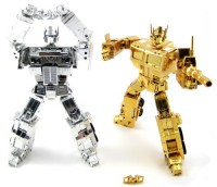 Transformers News: Quick Review:  iGear Gold & Silver Faith Leaders