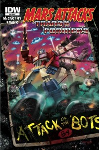 Transformers News: Press Release: This January, MARS ATTACKS IDW!