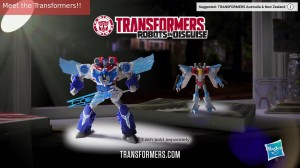 Australian Transformers Robots in Disguise Power Surge Optimus Prime TV Spot