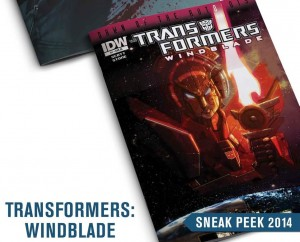 Transformers News: IDW 2014 Sneak Peek - Age of Extinction, Windblade, Dawn of the Autobots