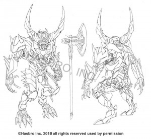 Concept Art for Skulk and Quintessa from Transformers: The Last Knight by Ken Christiansen