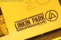 Transformers News: SDCC 2012 Coverage: Linkin Park Exclusive Soundwave Set