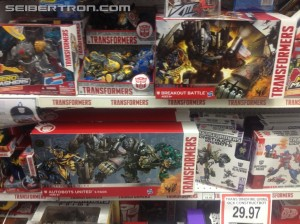 Transformers News: Autobots United and Breakout Battle Sets Found at Canadian Retail