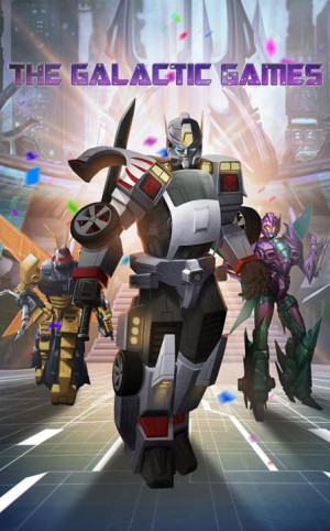 """Transformers: Legends """"The Galactic Games"""""""
