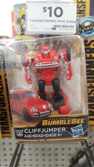 Transformers News: Better Look at Transformers Bumblebee Movie Cliffjumper Toy