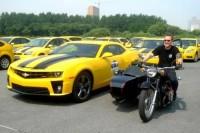Transformers ROTF Bumblebee parade in China