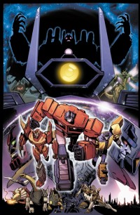 Transformers News: Transformers: Dark Cybertron #1 Cover Revealed