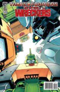 Last Stand of the Wreckers #4 Five-Page Preview