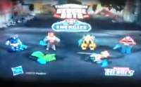 Transformers News: New Transformers: Rescue Bots Energize Commercial