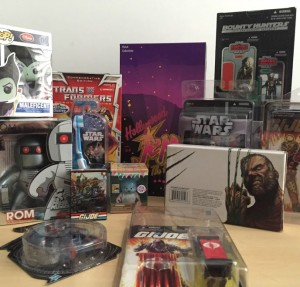 Receptions for Research Cancer Charity Auction: Hasbro SDCC Items and more from Joe Moscone