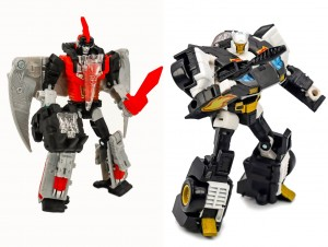 Transformers News: Video Review for Transformers Generations SELECTS Series Red Swoop and Ricochet