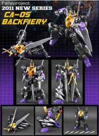 FansProject CA-05 Backfiery In-Stock and Ready to Ship at BBTS