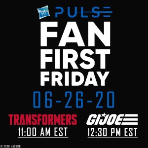 Transformers Fans First Friday coming to Hasbro Pulse