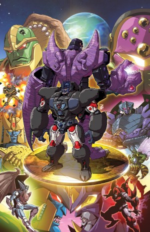 Josh Perez Shares Clean Retailer Incentive Cover Art For IDW Beast Wars #3