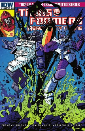 Transformers News: IDW Transformers: Regeneration One #100 Review