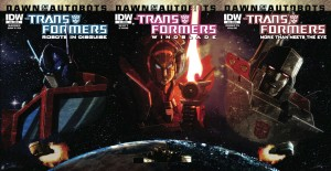 IDW Transformers April 2014 Dawn of the Autobots Pre-Order Codes