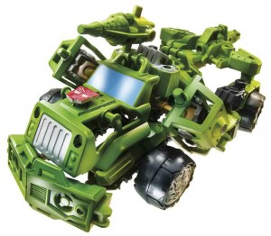Transformers News: Video Review: Transformers Construct-Bots Hound