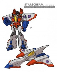 Transformers News: Transformers: Robots in Disguise Starscream Concept Art
