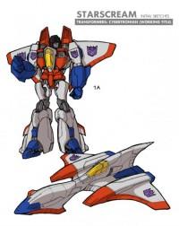 Transformers: Robots in Disguise Starscream Concept Art