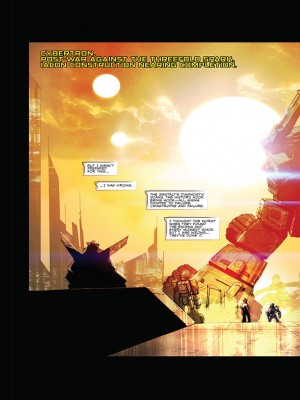 Transformers News: Transformers Galaxies 3 Page Preview from iTunes for Issue 3