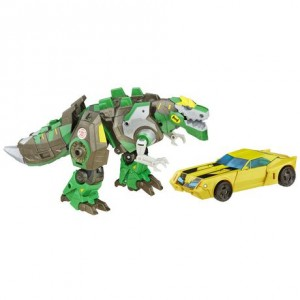 Transformers News: New Photos of Transformers Platinum RID Grimlock and Bumblebee who are now Available at Walmart.ca