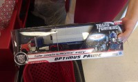 Transformers News: Transformers Movie Trilogy Series Optimus Prime with Trailer Sighted at Retail