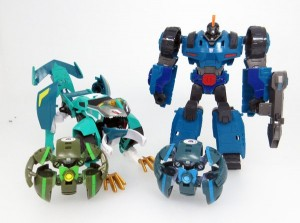 Transformers News: New Transformers Adventures Images Including TAV Overload, Crazybolt and new Minicon Functionality