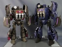 Transformers News: In-Hand Images: Takara Tomy Transformers Generations TG-13 Soundwave and TG-14 Soundblaster