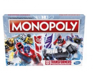 New Transformers Monopoly Game Coming