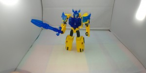 Video Review for Transformers Cyberverse Battle Call Trooper Bumblebee