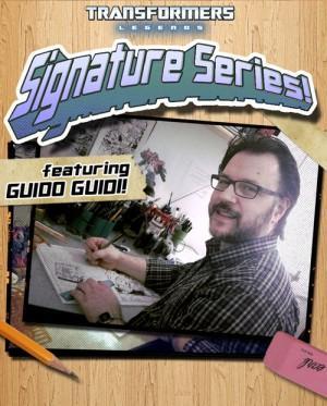 Transformers: Legends Signature Series Episode Featuring Guido Guidi