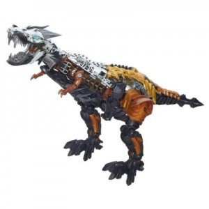 Transformers News: New Official Transformers: Age of Extinction Leader Class Grimlock Images Reveal New Chrome Applications
