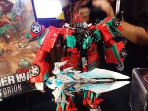 Transformers News: SDCC 2015 - Fan Built Combiner Victorion on Display