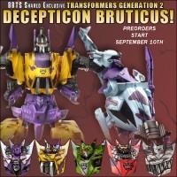 Transformers News: BBTS Sponsor News: G2 Bruticus, NECA Portal, DC & Much More