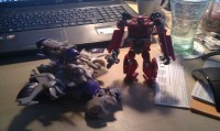 Additional Transformers Prime Voyager Megatron In-Hand Images