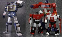 Transformers News: Official Images: Takara Tomy MP-13 Soundwave and MP-14 Red Alert