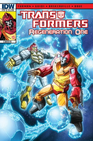 Transformers News: Sneak Peek - IDW Transformers: ReGeneration One #97