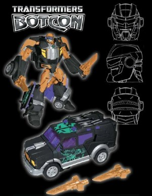 Transformers News: BotCon 2014 Pirates vs. Knights Cannonball Revealed