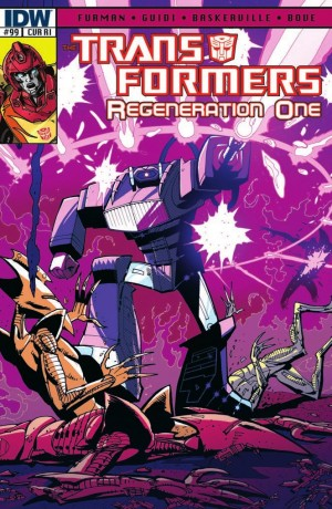 Transformers News: IDW Transformers: ReGeneration One #99 Review