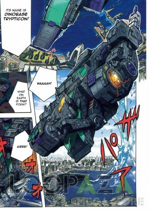 Transformers Legends Trypticon Pack-In Comic English Translation