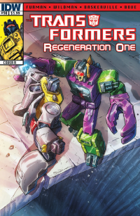 Transformers News: Transformers ReGeneration One #90 Script (W)Rap